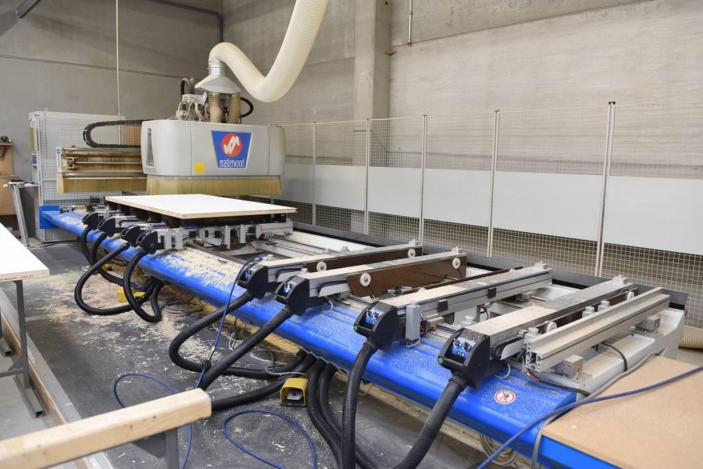Macchine Per Lavorare Il Legno : Macchina centro di lavoro masterwood project 416l usato